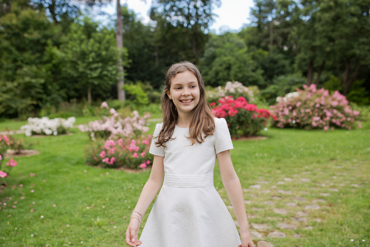 Robe de communion Jacquard italien
