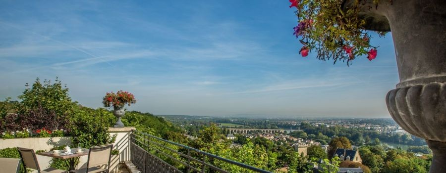 Pavillon Henri IV - vue panoramique