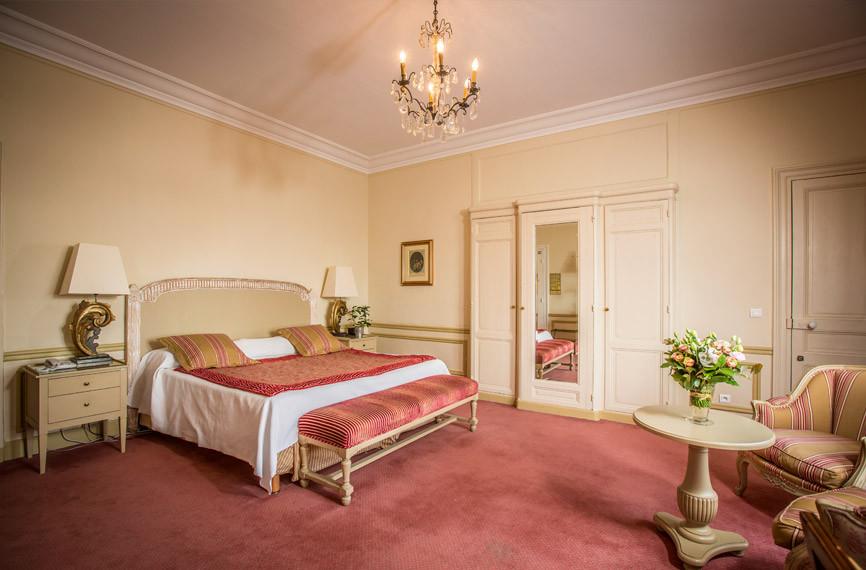 Pavillon Henri IV - Chambre