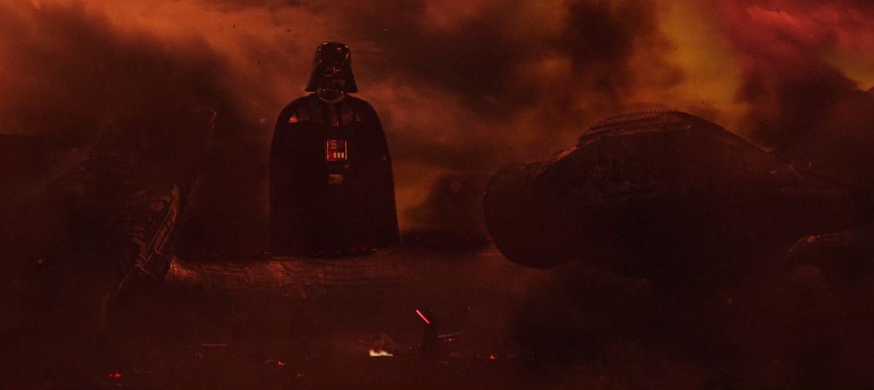 Nun steht Darth Vader seinem bösen und riesigen Ego entgegen. Fast wie in David gegen Goliath. (Bildquelle: Antonio Maria Da Silva)