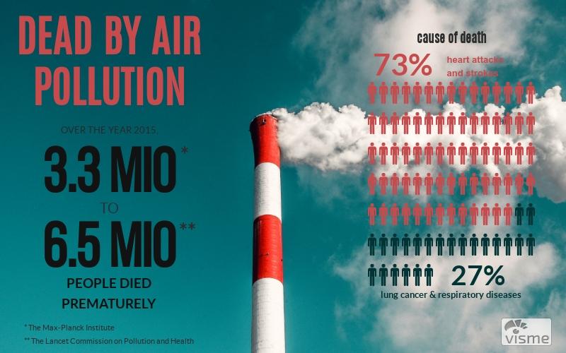 Illustration: Dead by Air Pollution (Patrick Klapetz by visme)