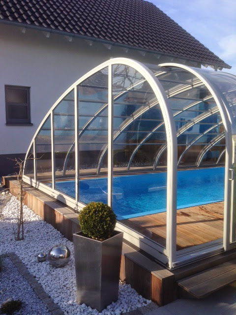 """PP-Rechteck-Pool unter einer Schwimmhalle """"MONACO-FUTURE"""""""