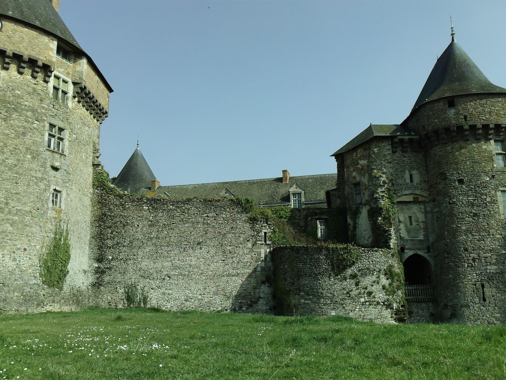 Château de Sillé le Guillaume © Office de Tourisme de Sillé le Guillaume