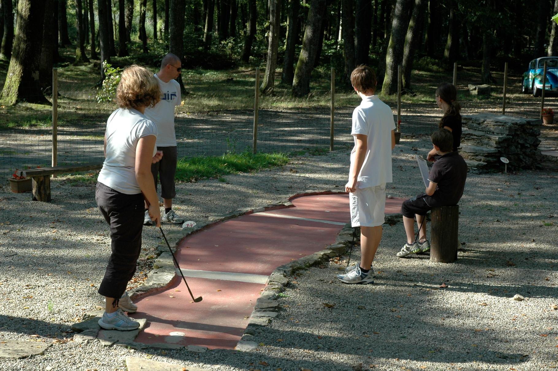 Mini Golf © PLoire