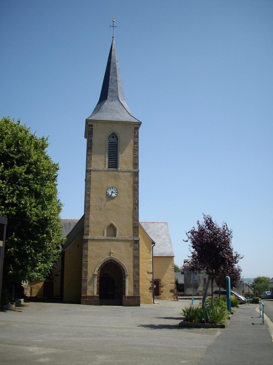 Eglise de Pezé le Robert