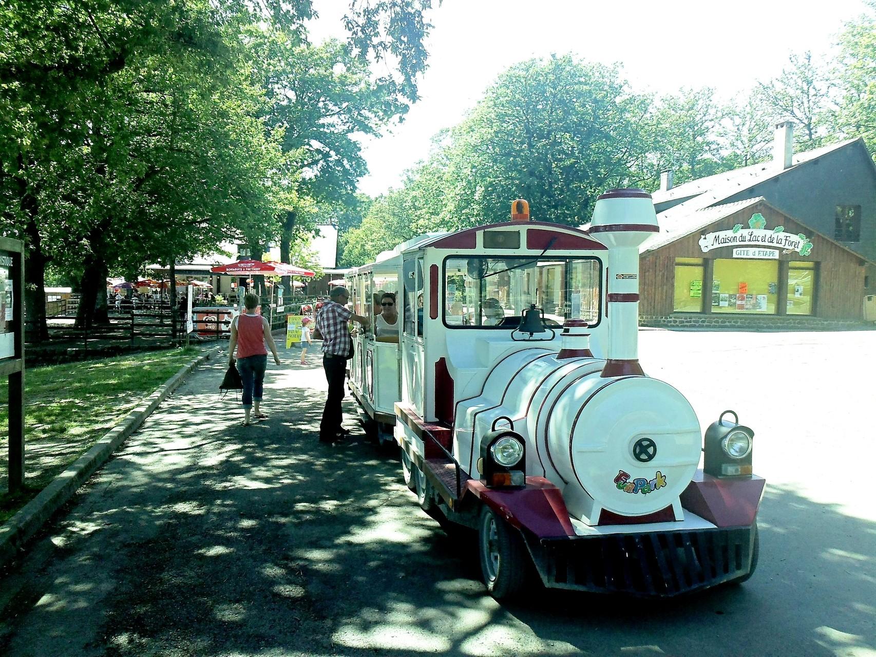 Petit train touristique © Office de Tourisme de Sillé le Guillaume