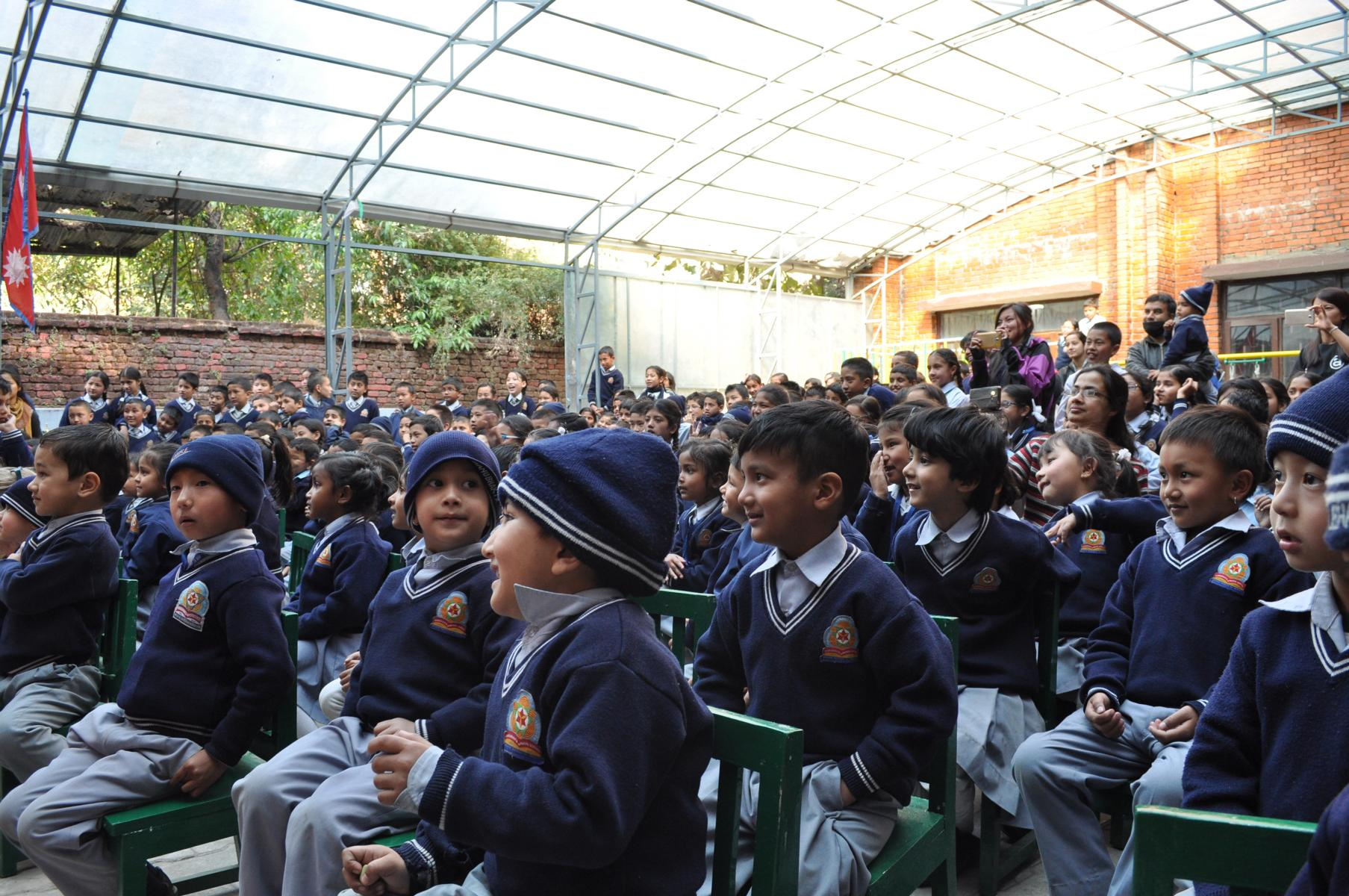ca. 200 Kinder nahmen an der Veranstaltung teil
