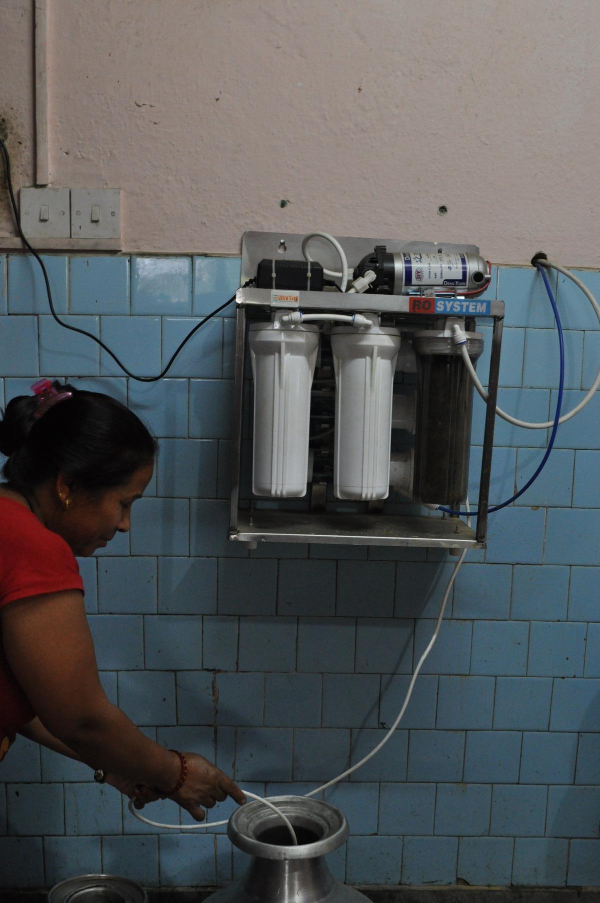 Hochleistungsfilter für das Trinkwasser in der Küche