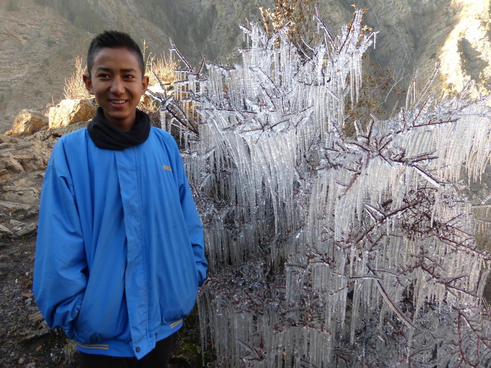 Die Antwort auf die Frage, ob es in Humla im Winter kalt ist.