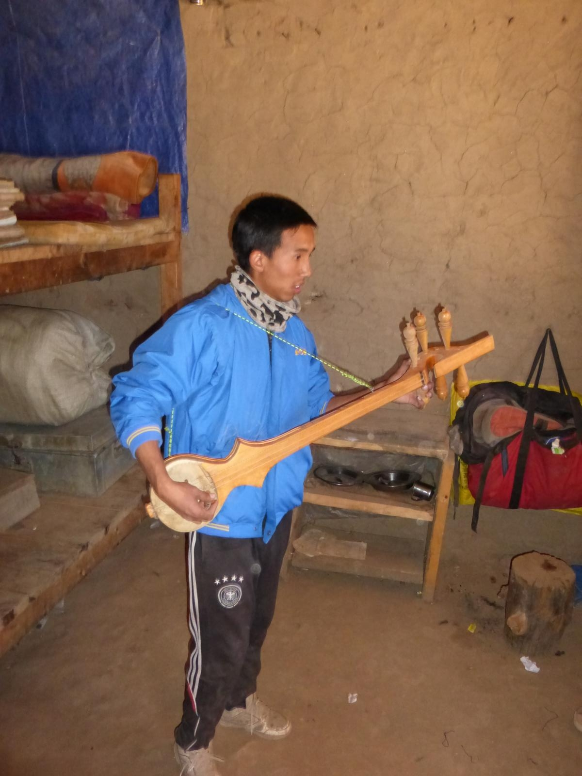Nepals Musiker von morgen.