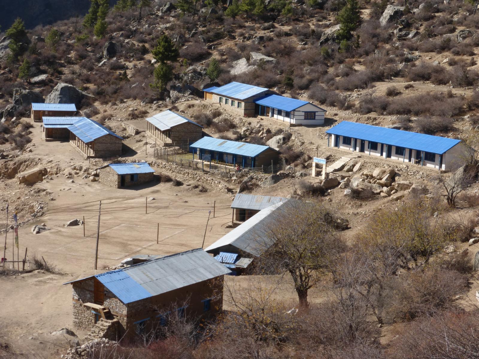 Die Schulgebäude