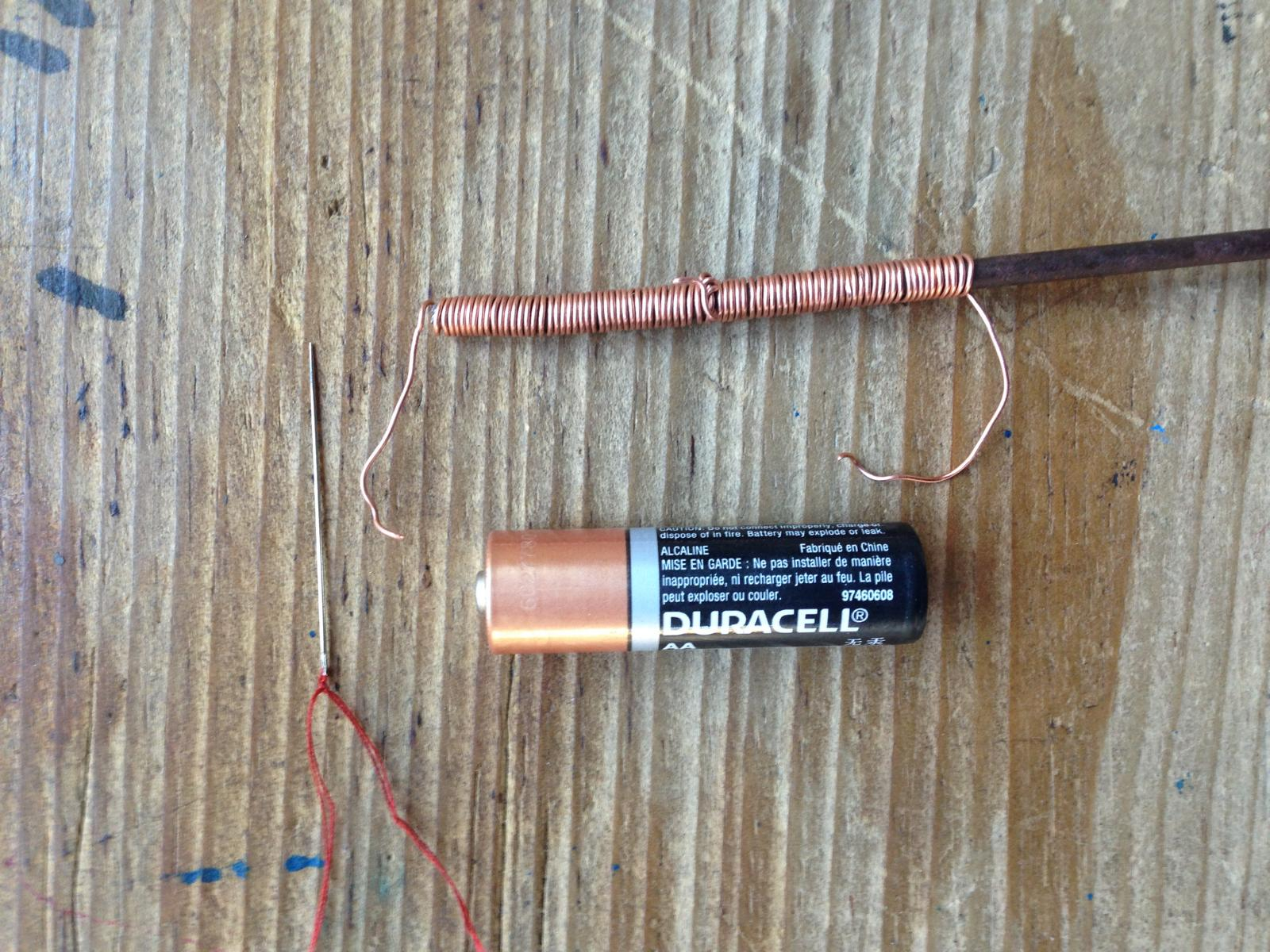 Nicht der effektivste Elektromagnet für den Schulunterricht aber suchen Sie mal in Humla die Sachen dafür!
