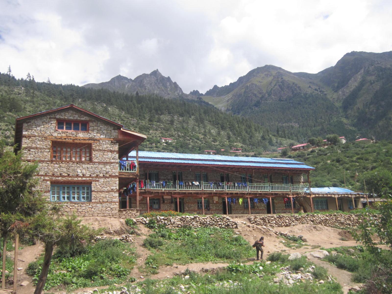 Hostel in Yalbang, Humla, vor dem Umbau 2012