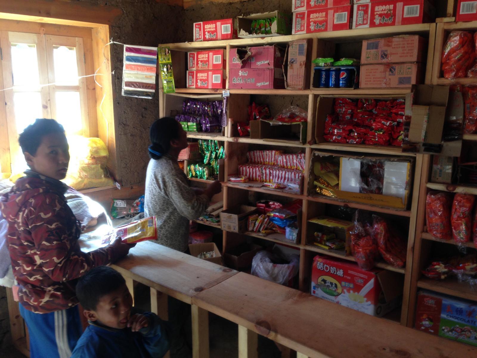 Der kleine Shop im neuen Lehrerhaus