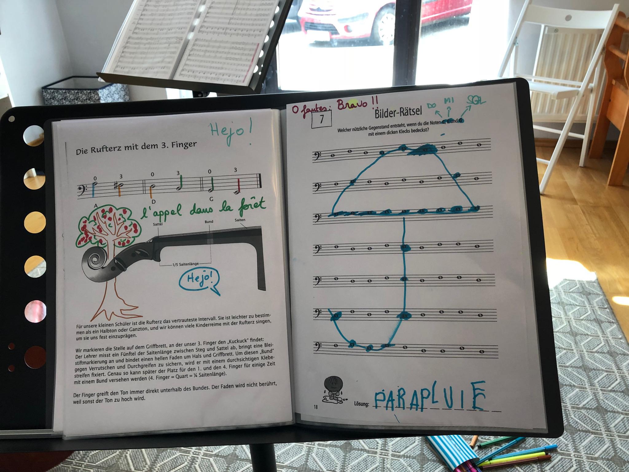 Violoncello spielerisch lernen