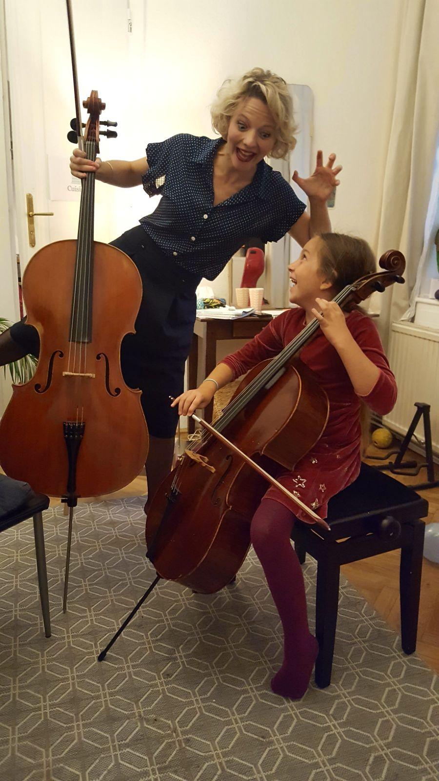 apprendre le violoncelle en s'amusant
