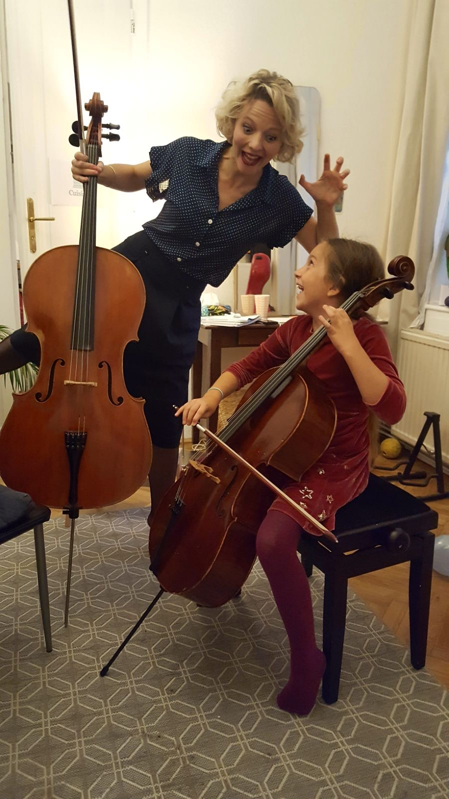 Cellounterricht für Kinder