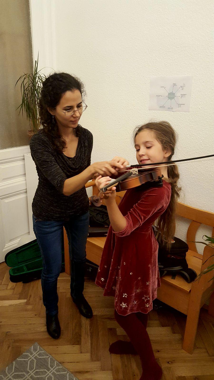 apprendre le violon et une langue étrangère