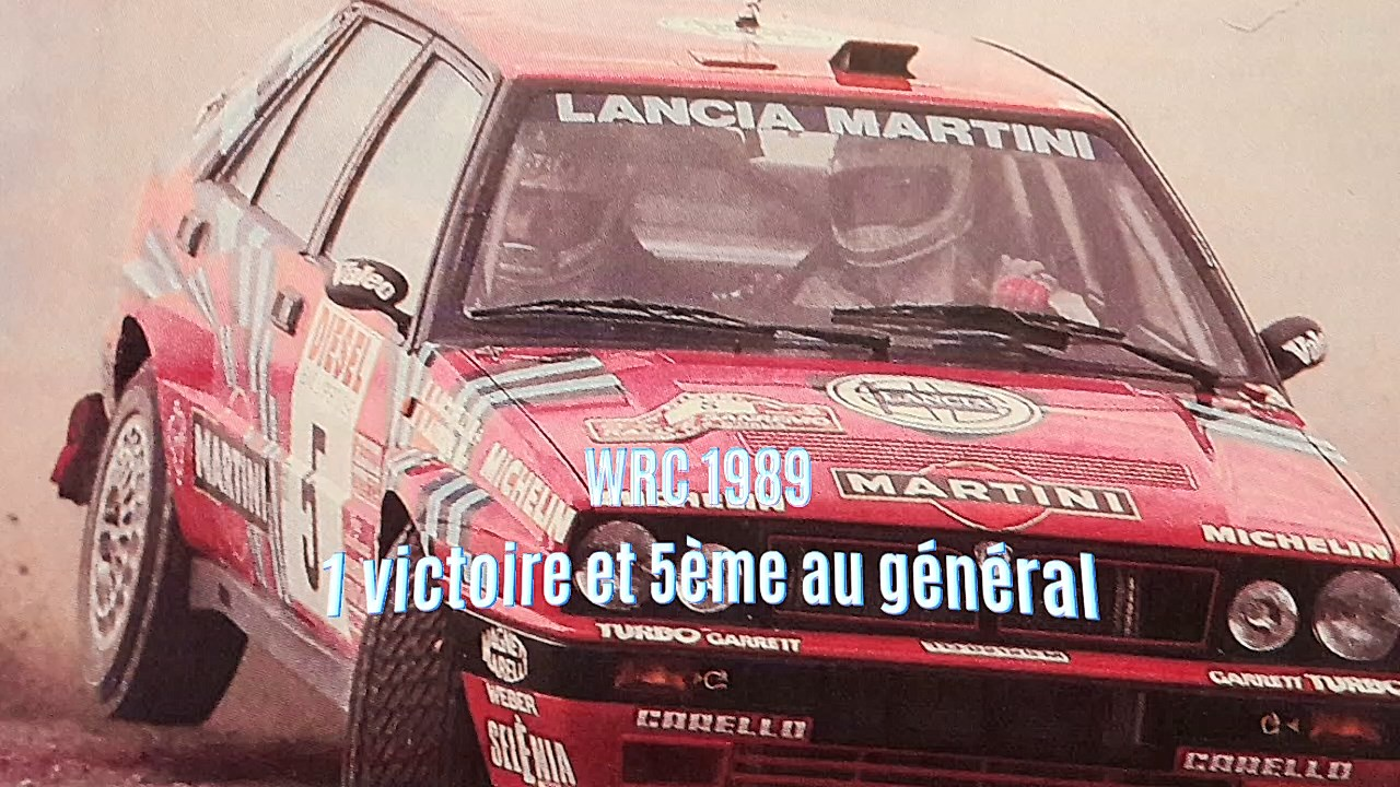 Retrospective Slot Didier Auriol : 1989 Rallye Sanremo