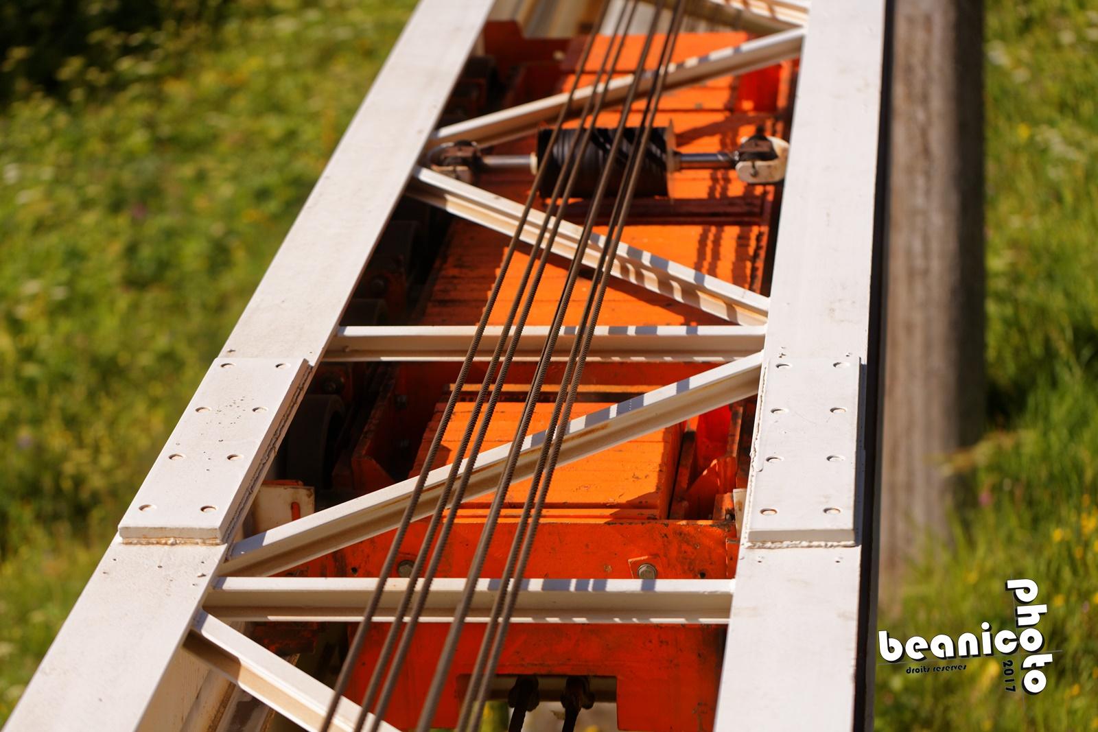 Contre-poids de l'ascenseur n°1 - Flaine