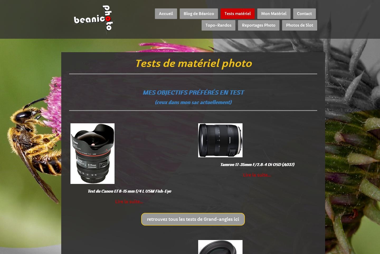 Beanico-Photo.fr change de design