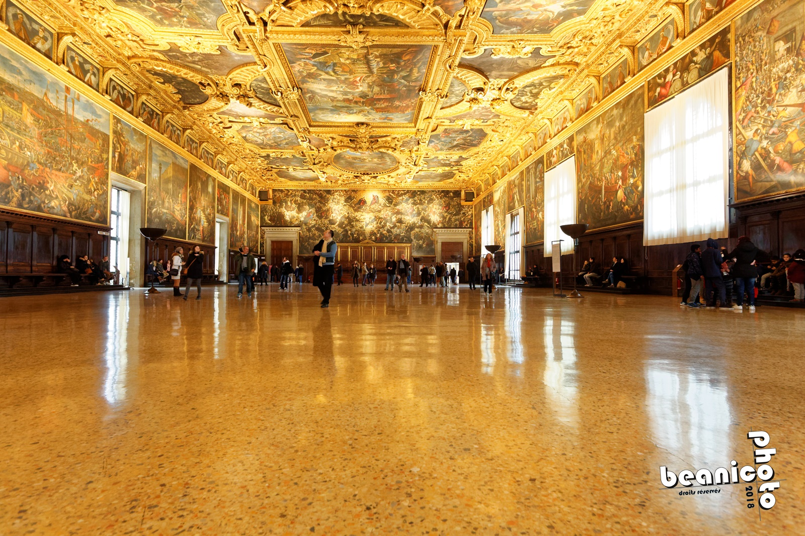 www.beanico-photo.fr - Canon 5DIII - Sigma Ex 20mm - f/5.6 1/20 ISO6400 - Venise - Palais des Doges