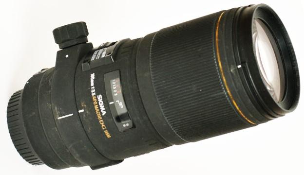 Test du Sigma 180 mm f/3.5 EX DG HSM Macro APO