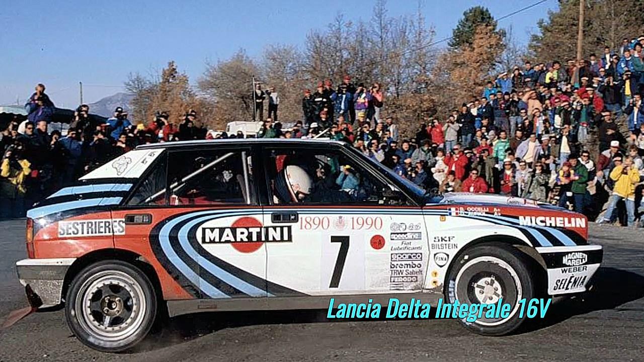 Retrospective Slot Didier Auriol : 1990 Rallye Monte Carlo