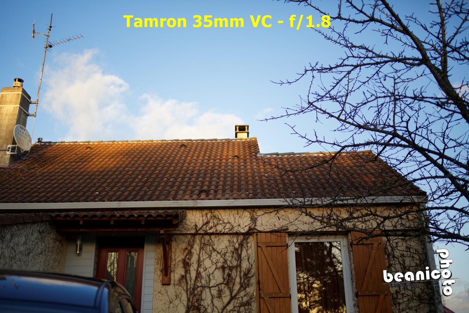 Test piqué d'image Tamron 35mm f/1.8 VC sur Canon Eos 5DIII - Beanico-photo.fr