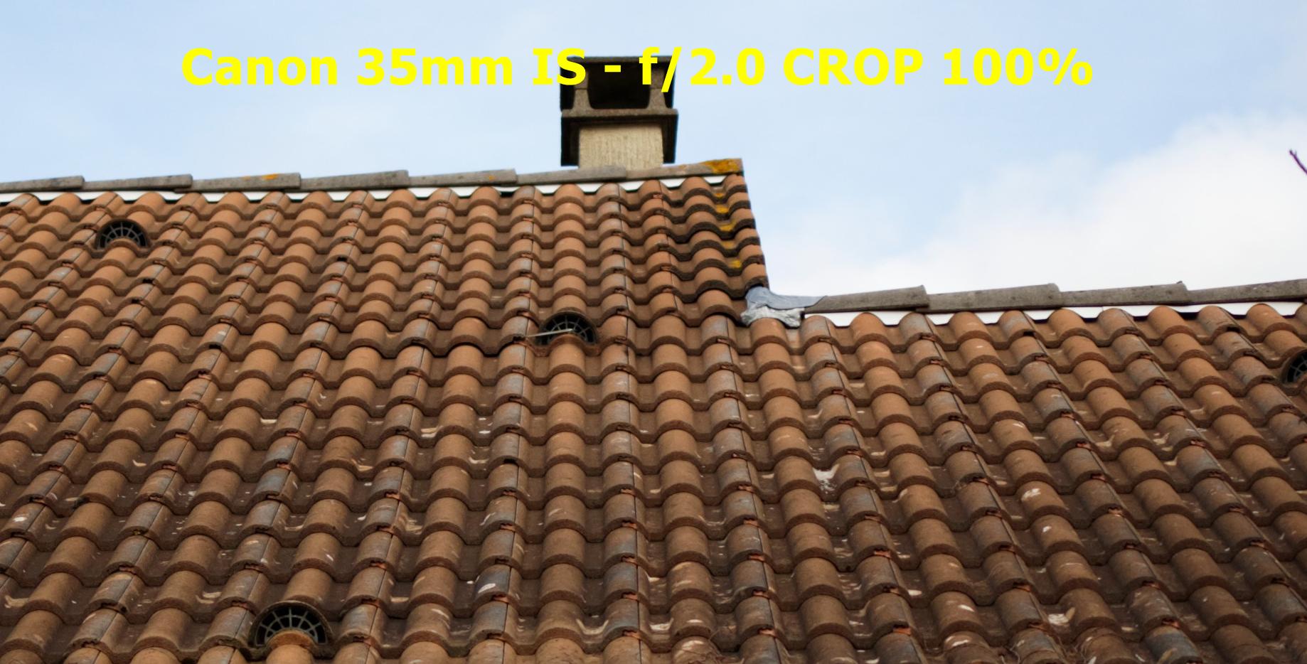 Test piqué d'image Canon EF 35mm f/2.0 IS USM sur Canon Eos 5DIII - Beanico-photo.fr