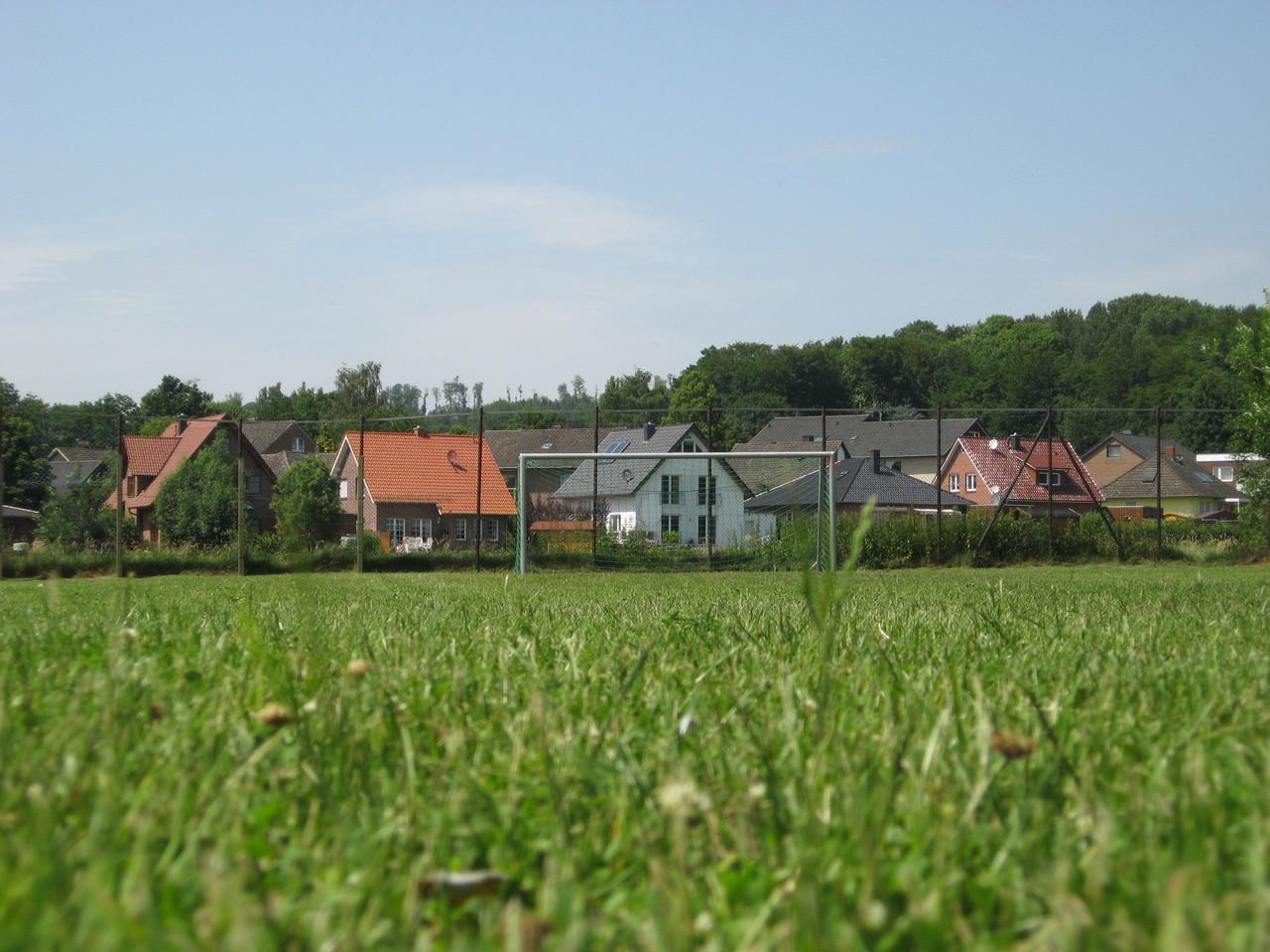 Unser Fußballplatz