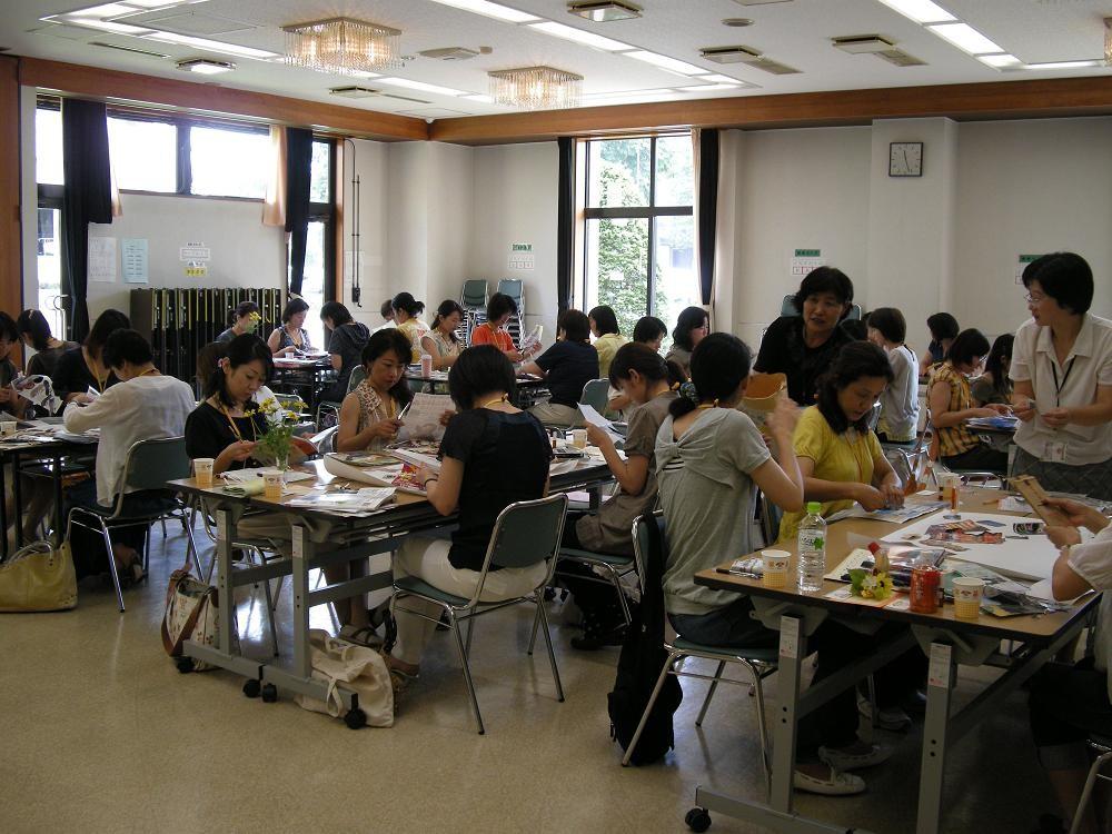 アロマコラージュ療法誕生のきっかけとなった2009年7月15日宇都宮市民大学