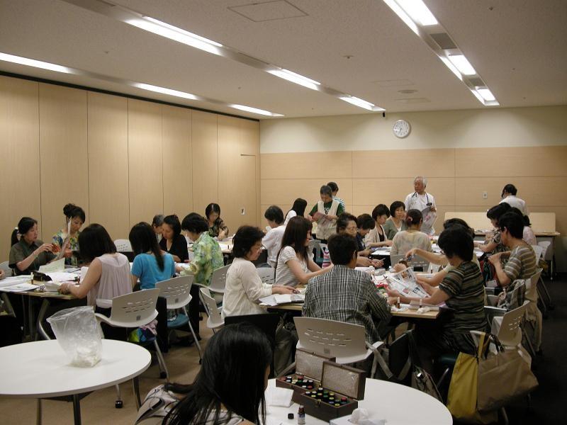 日赤医療センター・アロマテラピー研究会(2010年6月28日)