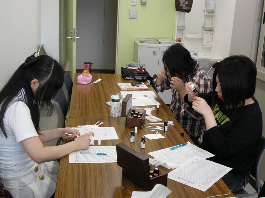 大学にて効果を検証するためのデータ収集