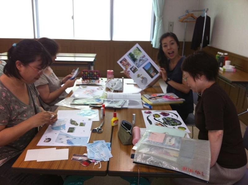 フレグランスをコラージュで表現 (2011年7月5日パルシステム東京主催)