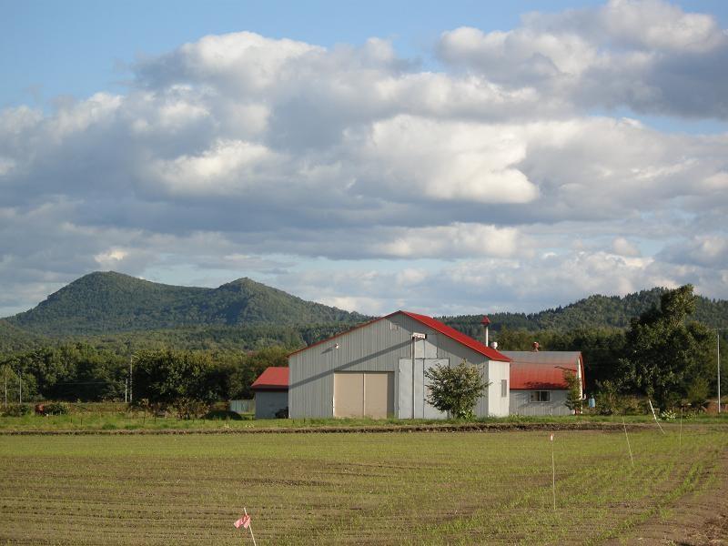 北海道紋別郡滝上町ハッカ蒸留所