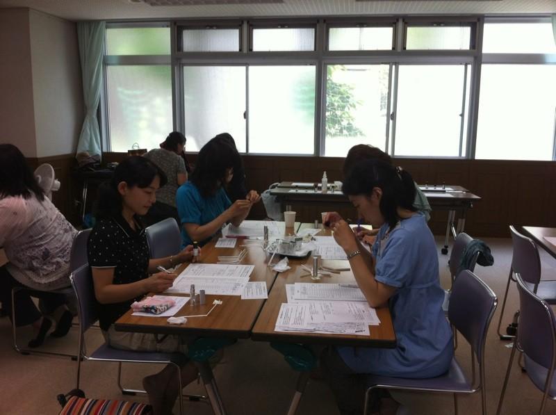 試香・レシピ作成 (2011年7月5日パルシステム東京主催)