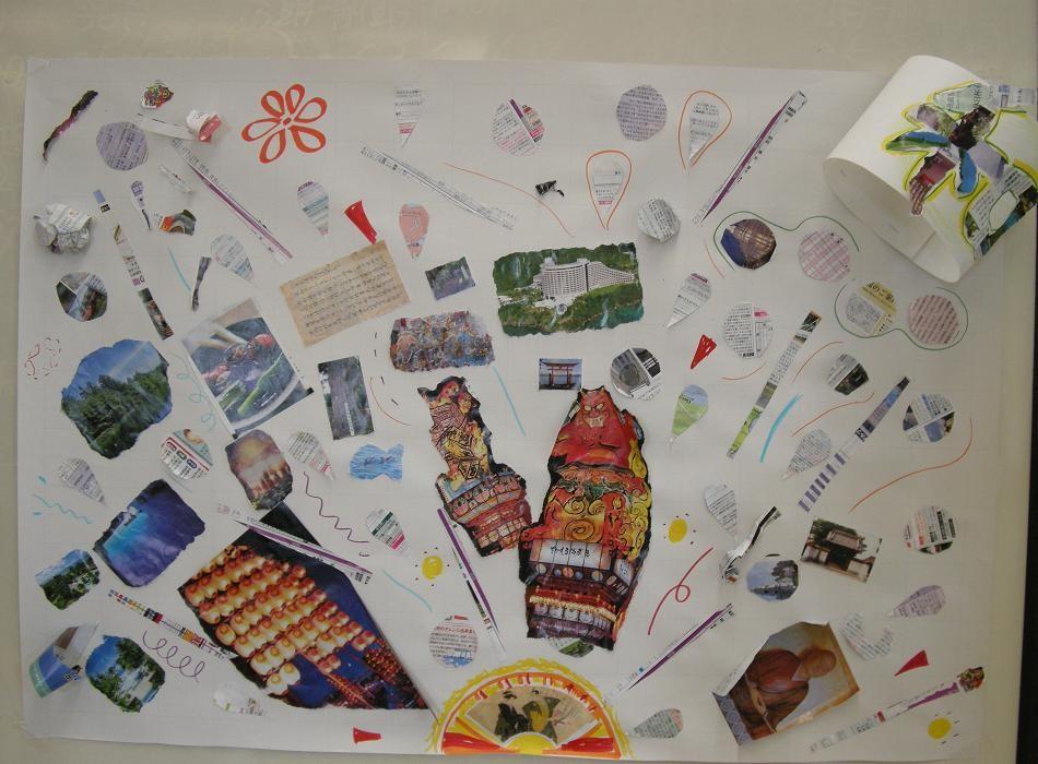 以上、グループ体験方式による作品 (2009年7月15日宇都宮市民大学)
