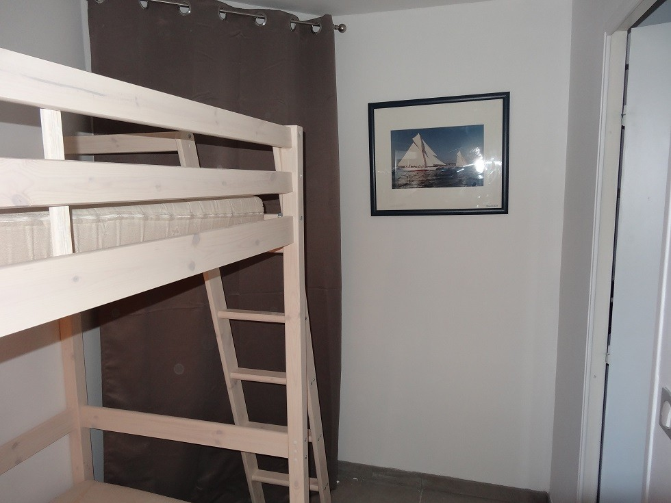 chambre avec lits supersposés