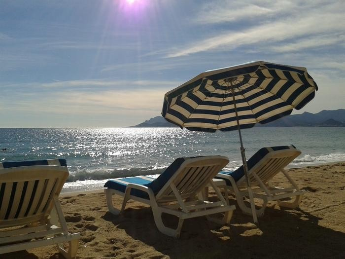 les plages de Cannes la Bocca