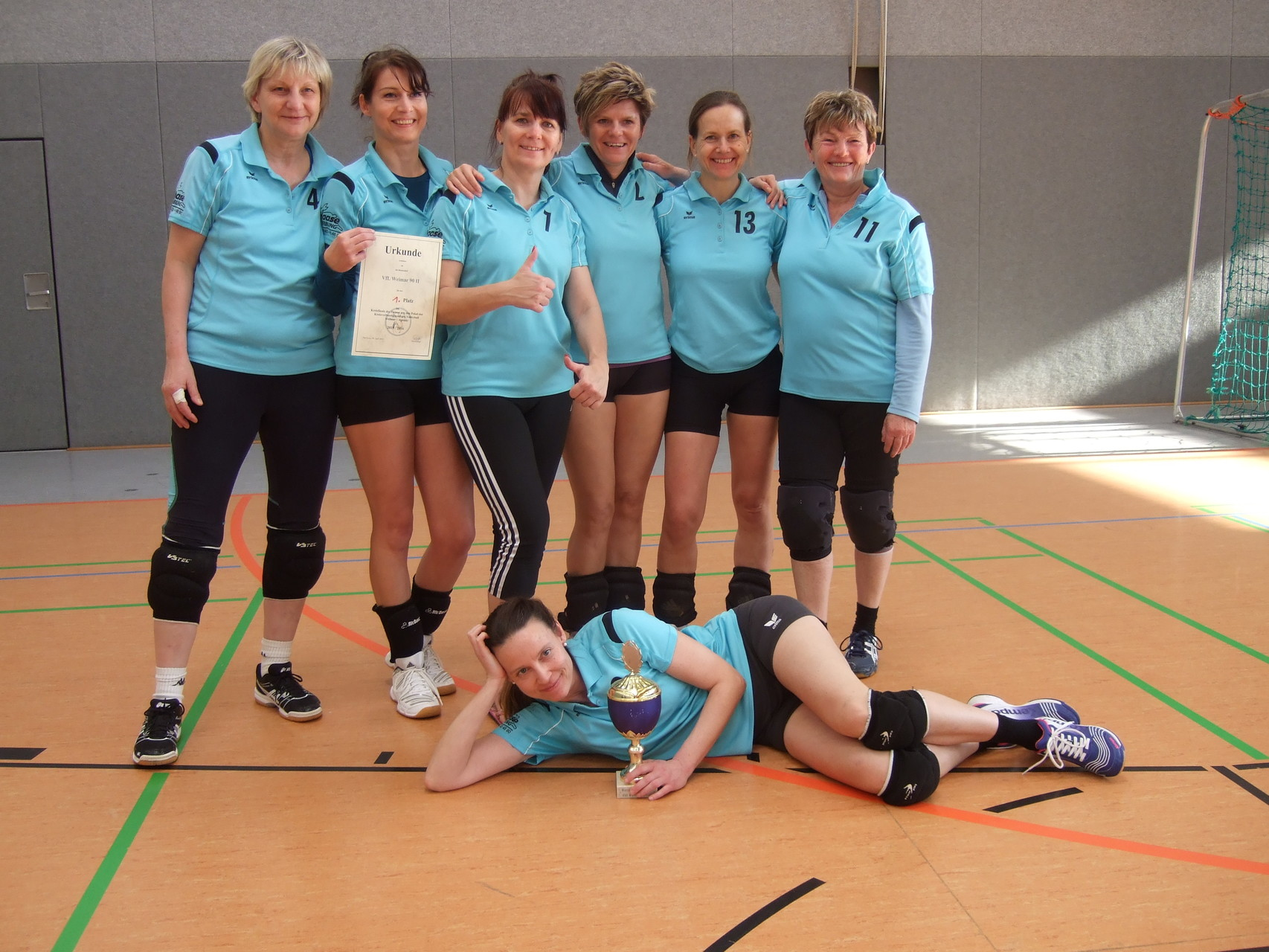 Kreispokalsieger 2015/2016: VfL Weimar '90 II