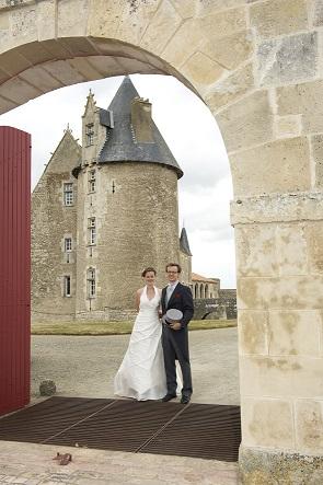 Wedding photos - Château Saveilles - Château en Charente - Photos mariage Charente