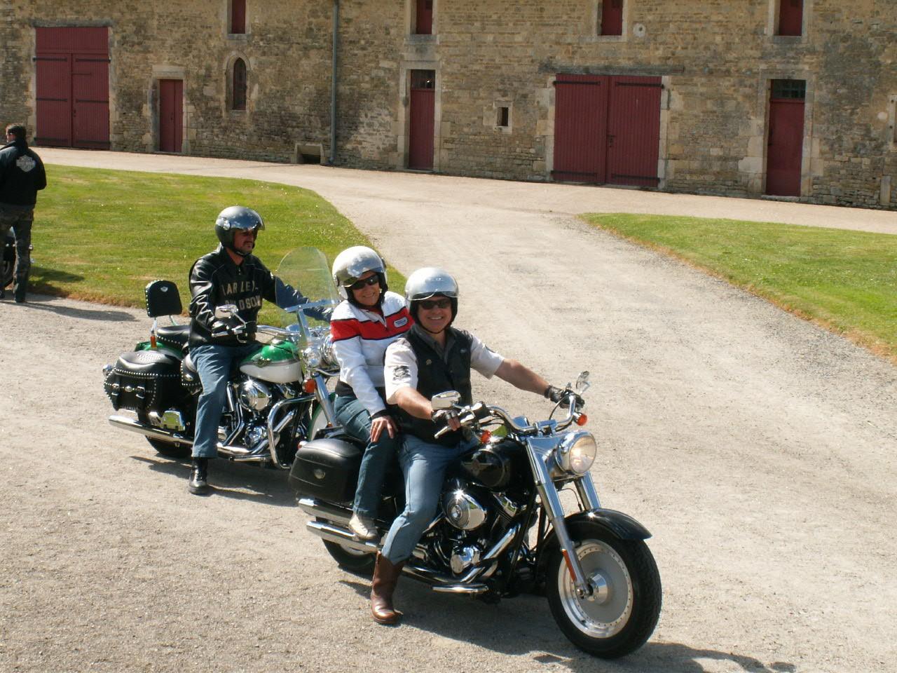 12/18 - Rallye Motos Harley-Davidson - Château de Saveilles ©photo-propriétaire