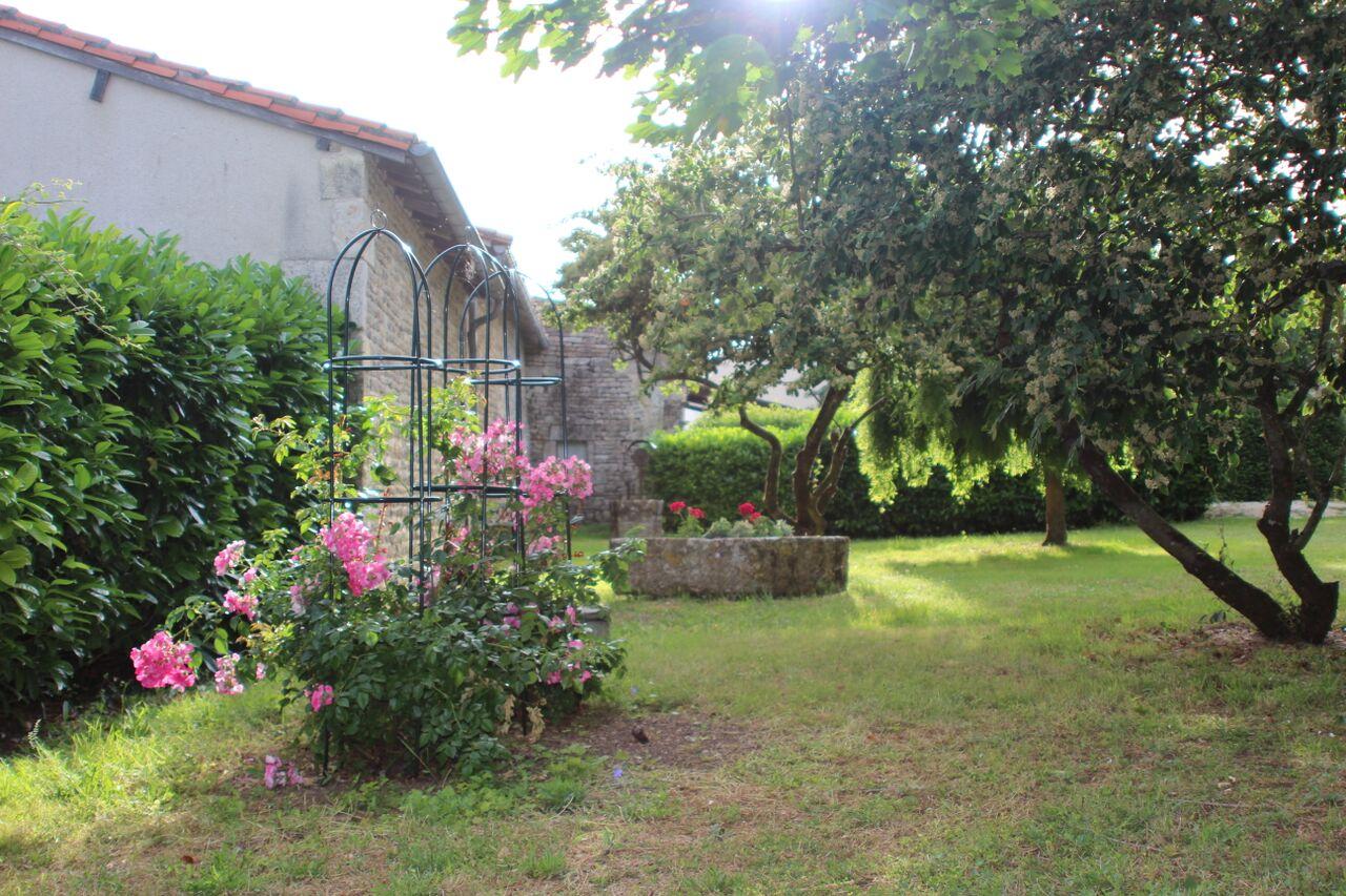 In the private garden