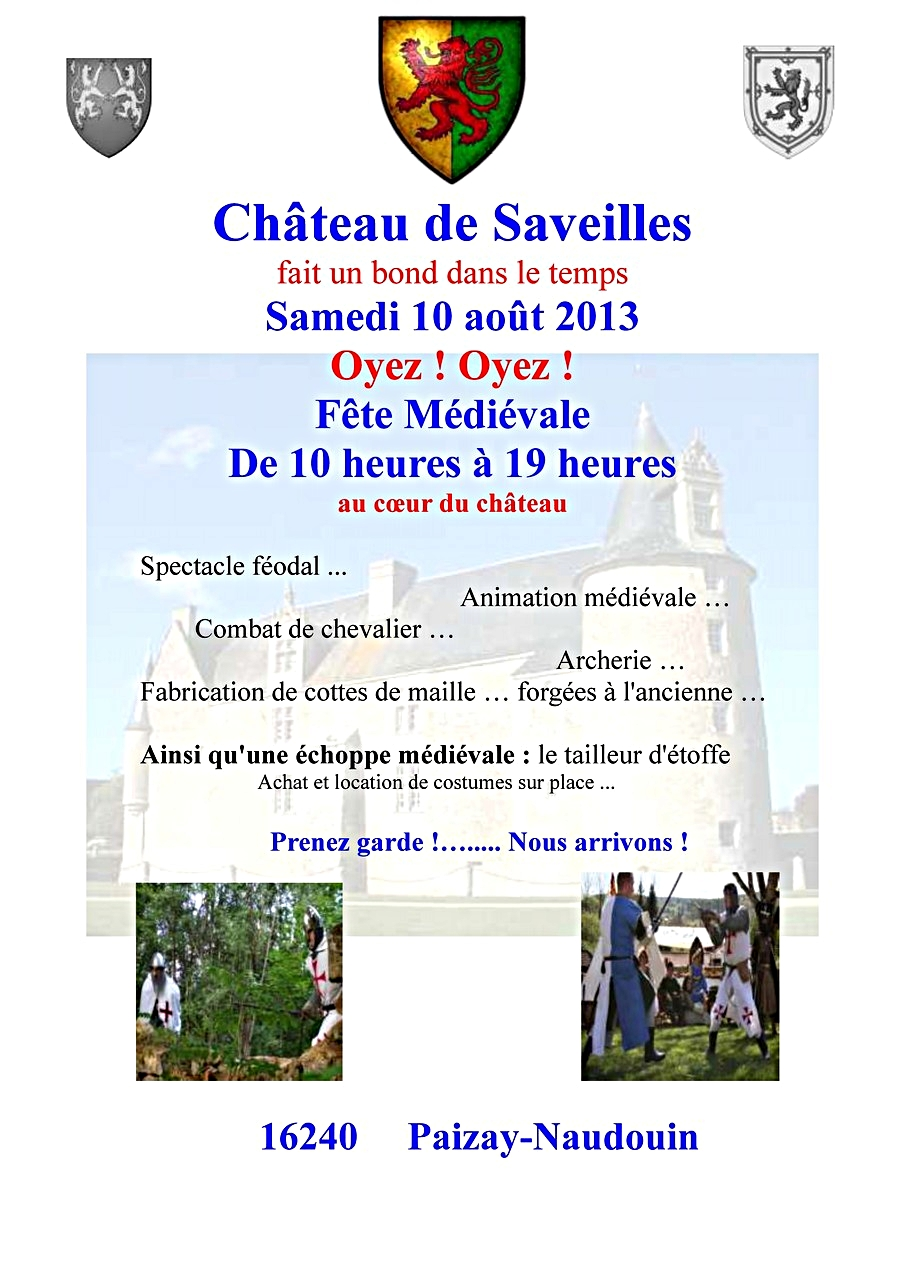 1/10 - Fête médiévale - Château de Saveilles ©photo-propriétaire