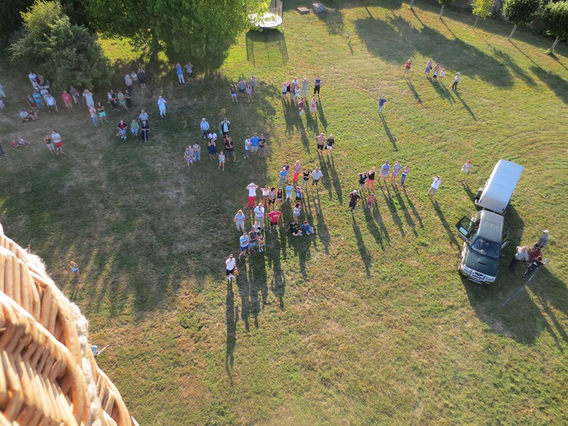 Hot air balloon flight - Château Saveilles ©photo-P.Baudouin