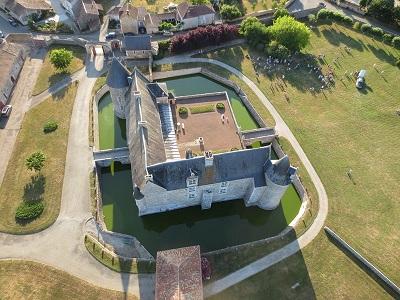 Envol en montgolfière en Charente - Chateau en Charente - Château de Saveilles