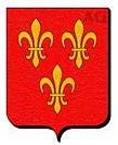 Coat of arms La Rochefaton - Château de Saveilles - Saveille