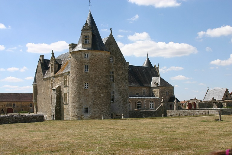 Vue générale / General overview - Château fort Charente - Château de Saveilles - Saveille - Château en Charente - Visite guidée groupe - Visite guidée famille