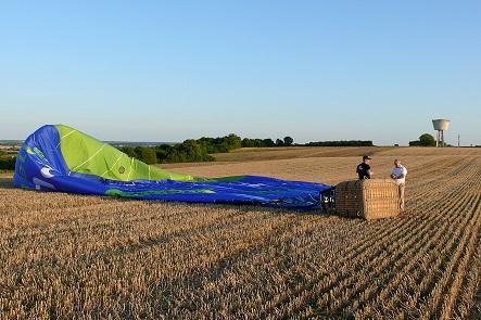 Hot air balloon flight - Château Saveilles ©photo-P.Baudouin